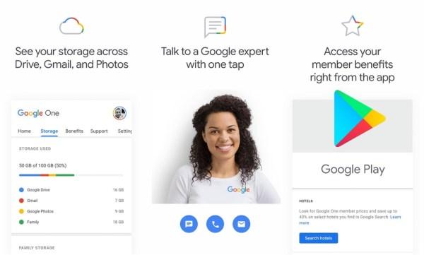 Aplikacja mobilna Google One jest już w sklepie Google Play