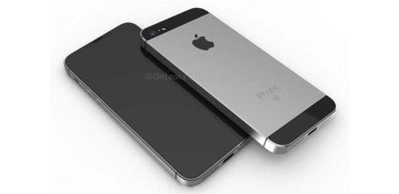 iPhone SE (2018) via @OnLeaks
