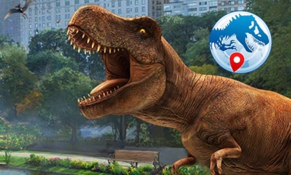 """Zamiast Pokemonów łapiemy dinozaury w """"Jurassic World Alive"""""""