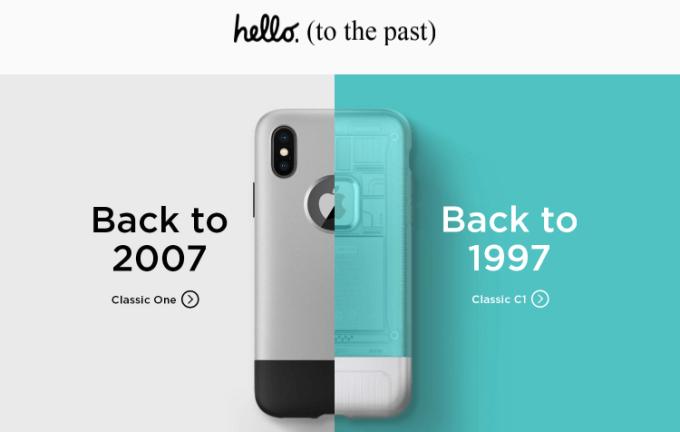 Obudowa Classic C1 dla iPhone'a X