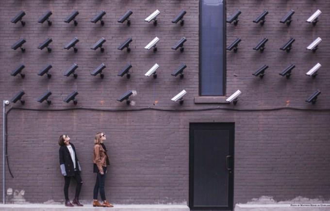 RODO - ludzie pod licznymi kamerami