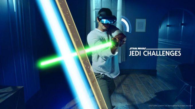 Star Wars™: Jedi Challenges - miecz świetlny (Lenovo, Disney)