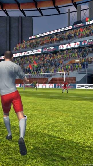 Turbo Soccer (zrzut ekranu z gry)