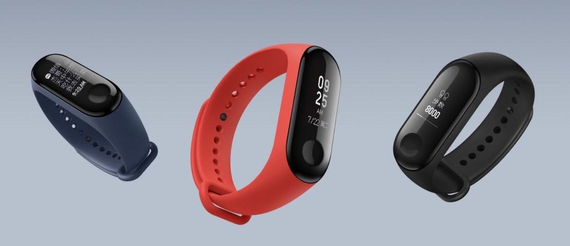 Inteligentna opaska fitness Mi Band 3 od Xiaomi