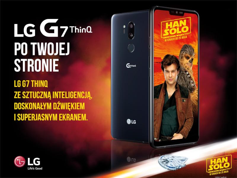 LG G7 ThinQ ze sztuczną inteligencją - Po Twojej Stronie (kampania z Disneyem - Han Solo)