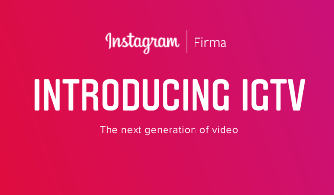 IGTV Instagram dla firm