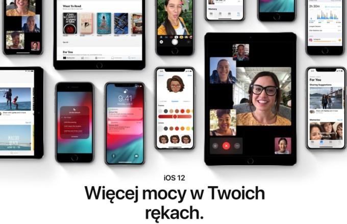 polskie strony o iOS 12 (zapowiedź)
