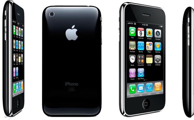 iPhone 3G (Apple, 2008)