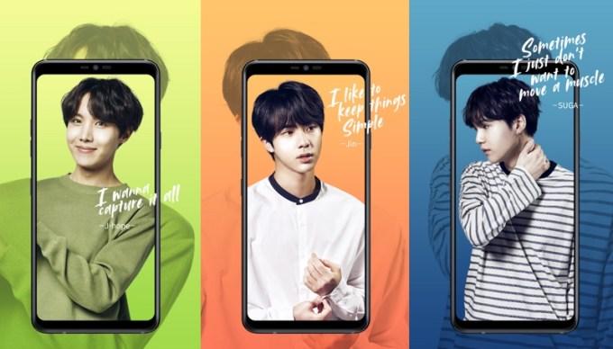 LG nawiązuje współpracę z zespołem BTS (K-POP)