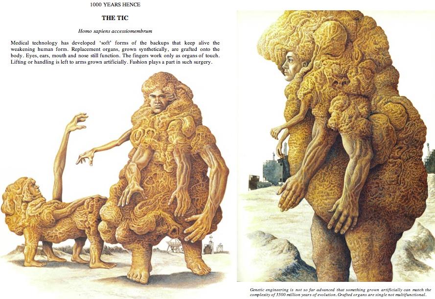 "fragment książki ""Man After Man"" (fot. 2)"