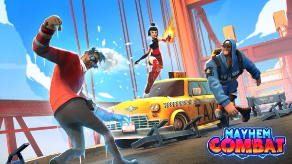 Gra Mayhem Combat oparta o walki na arenie już w App Storze!