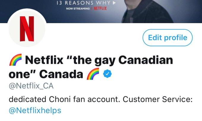 kanadyjski Netflix na Twitterze