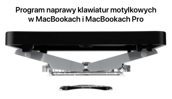 Apple uruchomiło program naprawy wadliwych klawiatur MacBooków