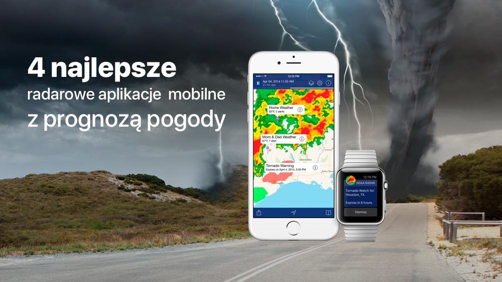 TOP 4 radarowe aplikacje mobilne z prognozą pogody
