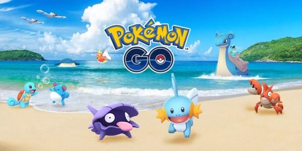 Water Festival powraca do Pokémon GO z dodatkowymi bonusami!