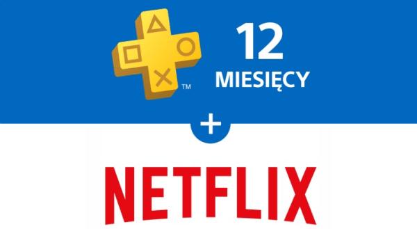 3 miesiące Netflixa z 12-miesięczną subskrypcją PS Plus!