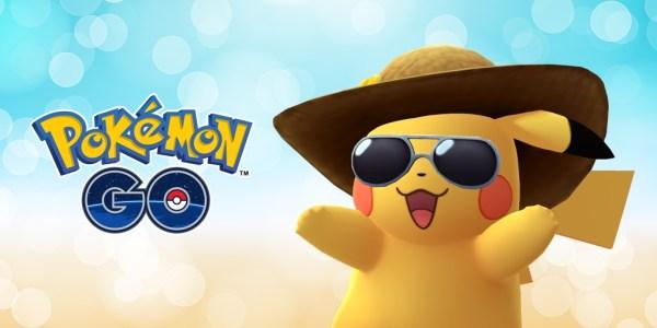 Pikachu w kapeluszu z okazji 2. rocznicy Pokémon GO