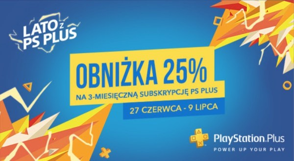 3-miesięczne członkostwo PlayStation® Plus 25% taniej!