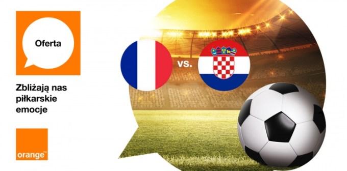 4 GB w Orange za wygraną Francji FIFA 2018