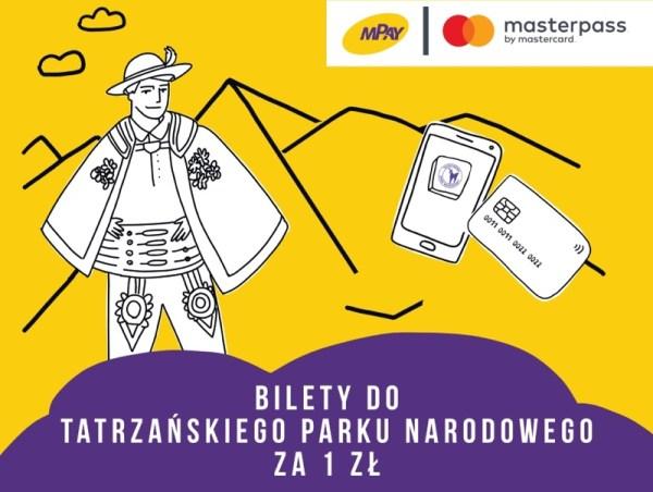 Bilety do Tatrzańskiego Parku Narodowego za 1 zł przez mPay