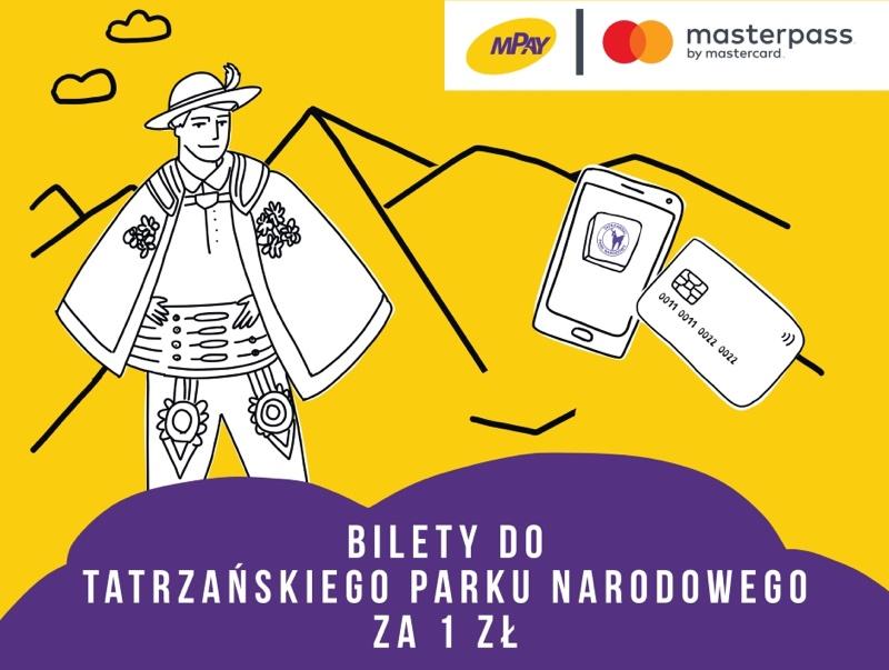 Bilety do Tatrzańskiego Parku Narodowego za złotówkę przez aplikacje mobilną mPay
