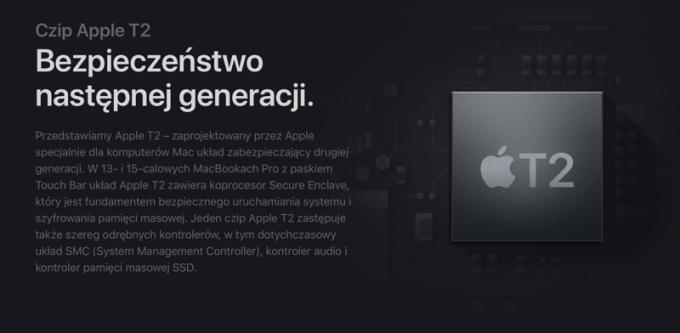 Czip Apple T2