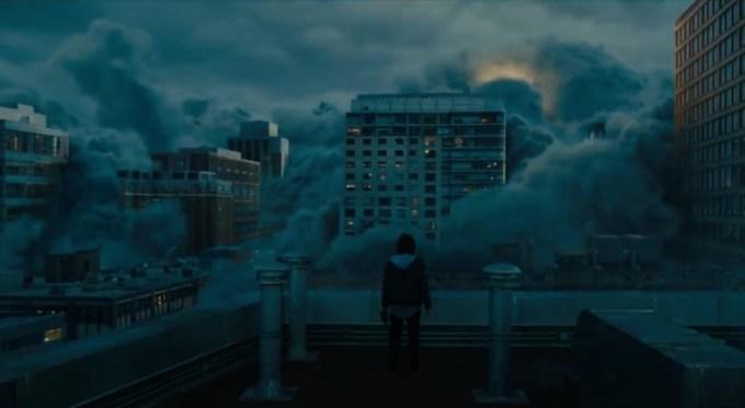 "Kadr z filmu ""Godzilla: King of the Monsters"""