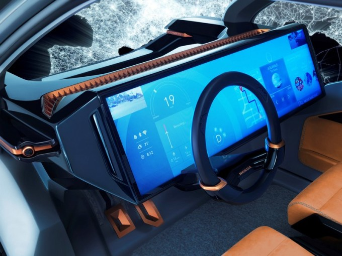 Honda NeuV Concept (wewnątrz)