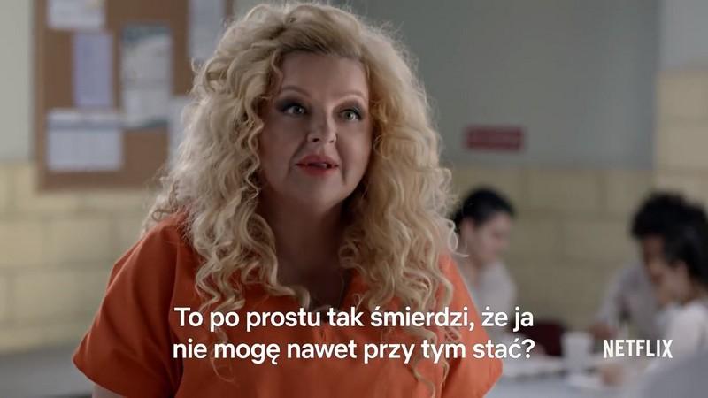 Magda Gessler w polskim zwiastunie OITNB