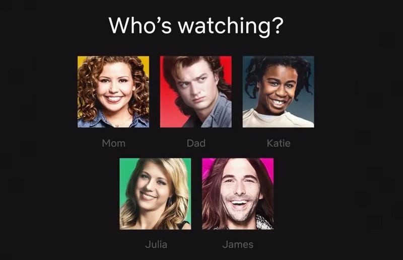 Nowe ikony profilowe użytkowników serwisu Netflix