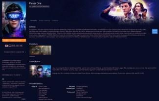 """""""Player One"""" online w serwisie iTunes (4K)"""