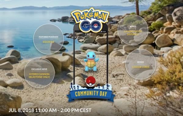 Dzisiaj Community Day w grze Pokémon Go! (8 lipca od 11.00)