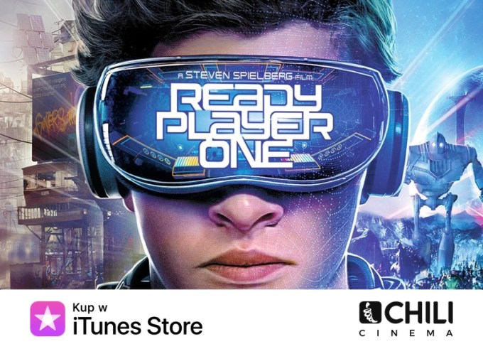 Film Player One w wersji online na iTunes i CHILI Cinema