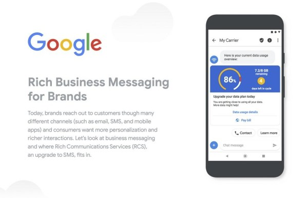 Wykorzystaj technologię RCS od Google'a do komunikacji ze swoimi klientami