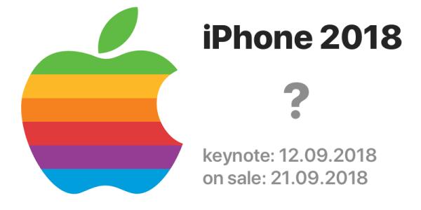 Kiedy Apple pokaże iPhone'a z 2018 roku?