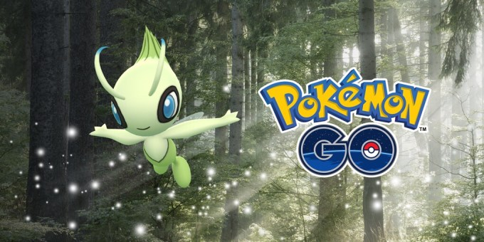 Pokemon Go Celebi Mythic Special Research