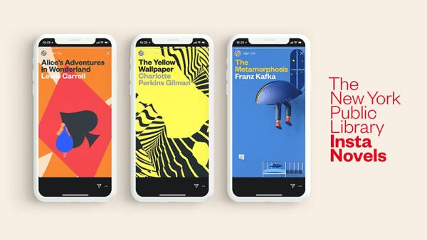 Insta Novels – czyli klasyczna literatura na Instagramie