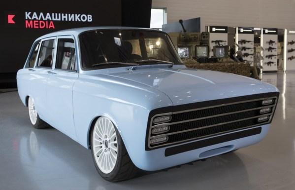 Auto Kałasznikow CV-1 ma być rosyjską odpowiedzią na Teslę