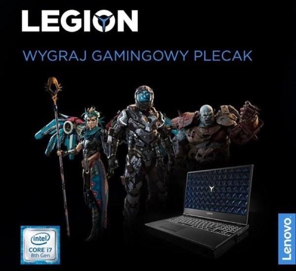 Konkurs Lenovo Legion: upoluj bestię, wygraj plecak gamingowy