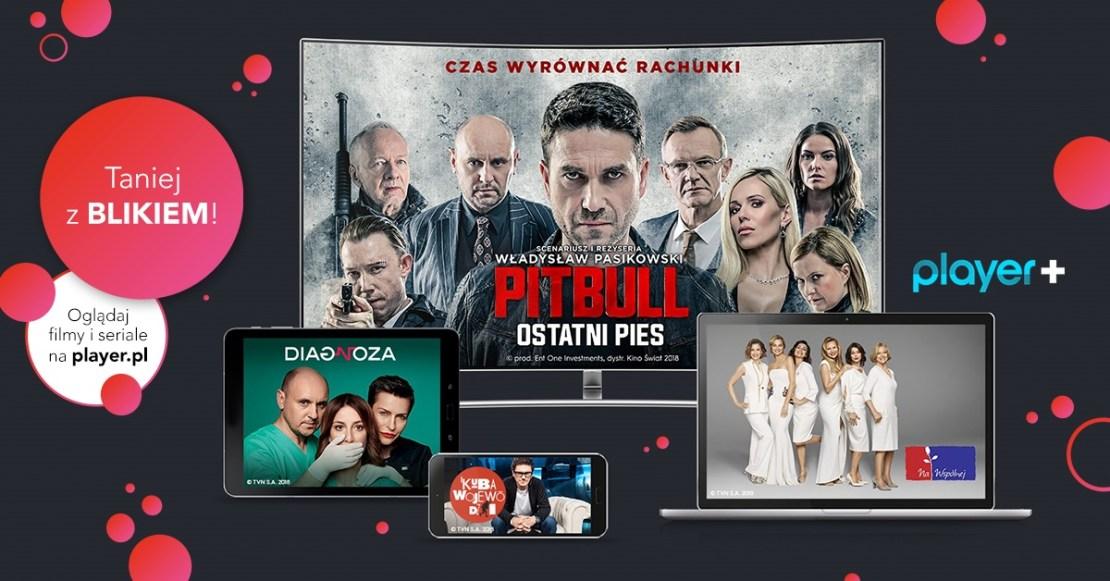 Promocja 20% zniżki w Player.pl z BLIKiem
