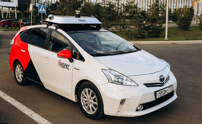 Yandex Taxi - samojeżdżące auto w Innopolis (Rosja)