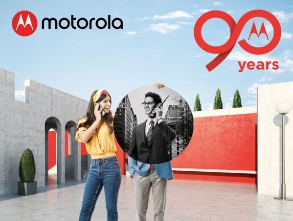 Motorola obchodzi swoje 90-lecie! #90yearsmotorola