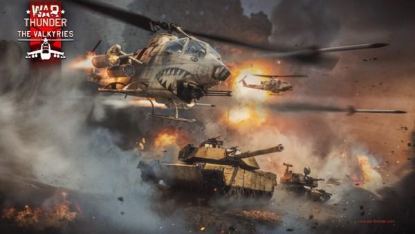 War Thunder podrywa śmigłowce do lotu, a piloci wznoszą okrzyki radości