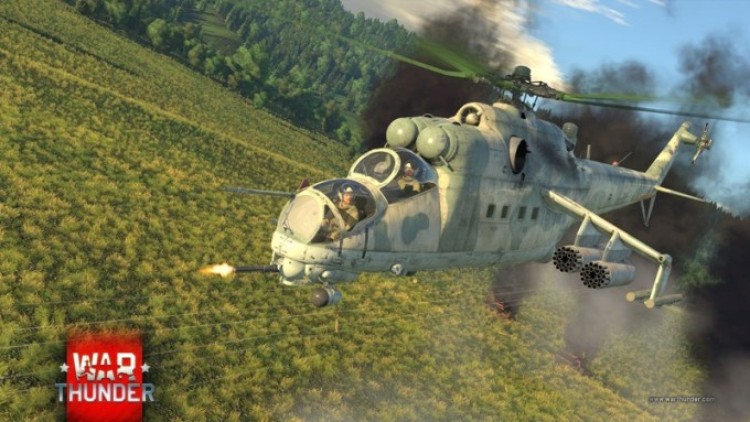 War Thunder Mi-24 (1.81 Valkiries)