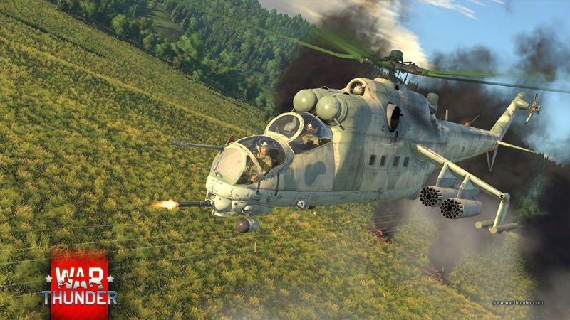 War Thunder Mi-24 (1.81 Valkiries)