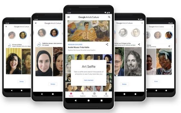 Nowa funkcja Art Selfie w aplikacji Google Arts & Culture