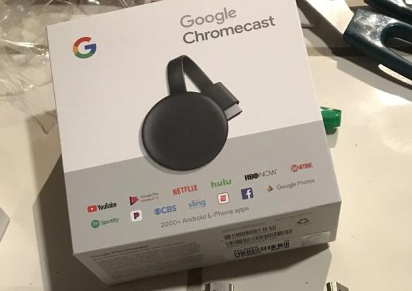 Chromecast 3. generacji niechcący sprzedany przed premierą…