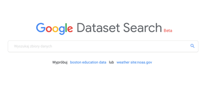 Google Dataset Search (Beta)