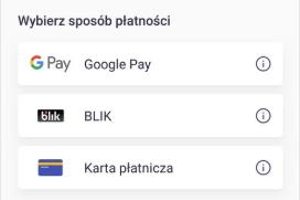 Google Pay w JakDojadę