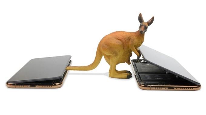 iPhone XS i iPhone XS Max (iFixit)